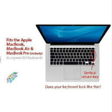 "2016 Transparent clear Silicone Keyboard Cover Skin sticker for English French Spanish German UK/EU MacBook Pro air 13"" 15"" 17""(China)"