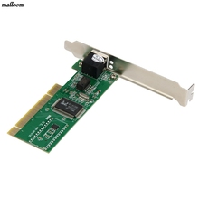 2017 High Quality New 10/100 Mbps NIC RJ45 RTL8139D LAN Network PCI Card Adapter for Computer PC Hot Sale