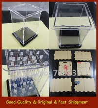Free Shipping Transparent Acrylic Cube Shell For 4x4x4 3D LightSquared 2*5*7MM LED Cube