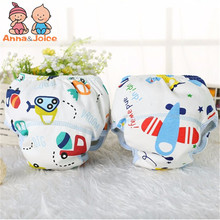 Free Shipping 30pcs/lot Cotton Baby Training Pants Baby Diapers Children Underwear/Reusable Diaper Nappies Reusable Diapers(China)