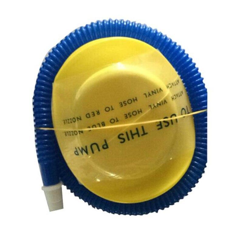 Bike Pump Bicycle Tire Light Inflator Air Pump Yoga Ball Foot Air Pump Inflator Cycling Air Press Frame Accessories #2A23 (3)
