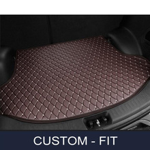 Custom car trunk mat for Jaguar All Models XF XE XJ F-PACE F-TYPE car accessorie car styling auto trunk mat(China)