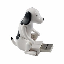 Home Storage Holders Racks In Laptop Funny Cute pet USB Creative Spot Dog Brown(China)