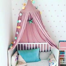 Buy Baby Bed Canopy Tent Reading Play Tents Canopy 100% Fine Cotton Dome Children Room Bed Canopy Valance Tent Kids Children for $4.01 in AliExpress store
