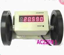 Electronic digital meter counter, power off Memory,0.01m -999999m  Length counter measure meter distance counter