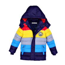 3-9 yrs Children Jackets Boys Girls  fashion down coat 2017 New Baby Winter Coat Kids warm winter outwear hooded Hight quality