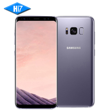 New Original Samsung Galaxy S8 5.8 inch 4GB RAM 64GB ROM Dual Sim Snapdragon 835 Octa Core Android 7.0 Fingerprint Smartphone(China)