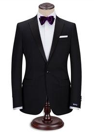 HTB1 gwcRFXXXXc1aXXXq6xXFXXXt - Custom Made Men's Wedding Suits Groom Tuxedos Jacket+Pant+Tie Formal Suits Business Causal Slim Navy Plaid Custom Suit Plus Size
