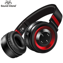 Sound Intone P6 Bluetooth Headphone With Mic Wireless Headphones Support TF Card FM Radio Bass Headset For iPhone Xiaomi PC Gift(China)
