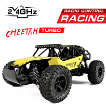 2017 2.4G High Speed SUV CAR Electric RC Car 4CH Hummer Rock Crawlers Car Off-Road Vehicles Model Toy RC Autos A Control Remoto(China)