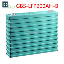1pcs GBS 3.2V200AH-B LIFEPO4 Battery for Electric Car/ Solar/UPS/energy storage etc GBS-LFP200AH-B(China)