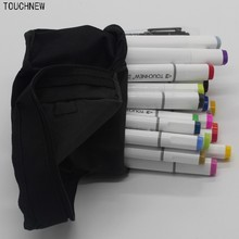 TOUCHNEW Authentic alcohol double oily mark pen touch new generation upgrade 40/72 color students hand-painted drawings