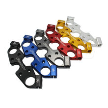 Motorcycle Lowering Lower Triple Tree Front End Upper Top Clamp For 2008-2015 Suzuki HAYABUSA GSX1300R GSXR1300 GSXR 1300
