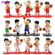 XIESPT 5Pcs/lot Slam Dunk Figures Japan Anime PVC Action Figure Toys Model Figurine Collection Kids Gifts Free Shipping