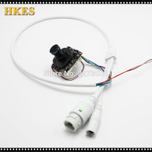 "HKES IPC 960P 1280 x 960 1/3"" CMOS CCTV IP camera module board + HD IR-CUT with nvsip application"