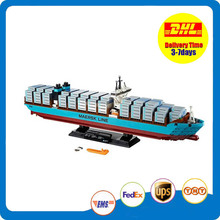 KISSWAWA Lepin 22002 1518pcs Technic Series The Maersk Cargo Container Ship Triple-e Set Educational Building Blocks Model Toys