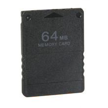 Hot New Stylish Black Wholesale Price 64MB 64M Memory Card Game Save Saver Data Stick Module For Sony For Playstation 2 For PS2