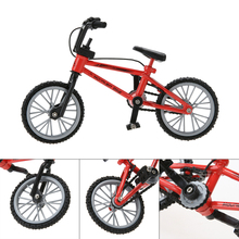 New Baby Toys Kids Functional Finger Mountain Bike + Spare Tire + Tools Fixie Bicycle Model Kits Children Gifts High Quality(China)