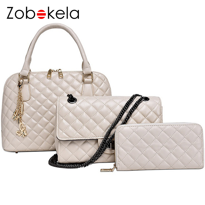Zobokela Bags handbags women famous brands chain women messenger bags 2016 fashion shoulder bags  high quality designer Quilted<br>