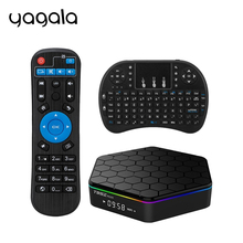 T95Z Plus Android TV Box Android 6.0 Amlogic S912 Octa Core 2g 16g Dual Band WiFi 1000M LAN 2.4G/5G 3D 4K Media Player PK X96(China)