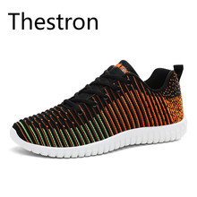 Thestron Men Running Shoes Autumn Winter 2017 New Breathable Textile Sneakers Sports Shoes Free Shipping Brand Sport Sneakers(China)