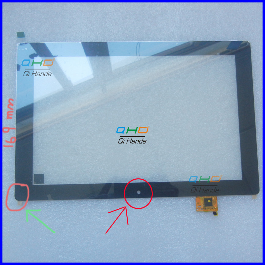 10.1 inch touch screen,100% New for Vidrio Bgh Positivo T201 2en1 Tablet PC touch panel digitizer touch panel, Free shipping<br>