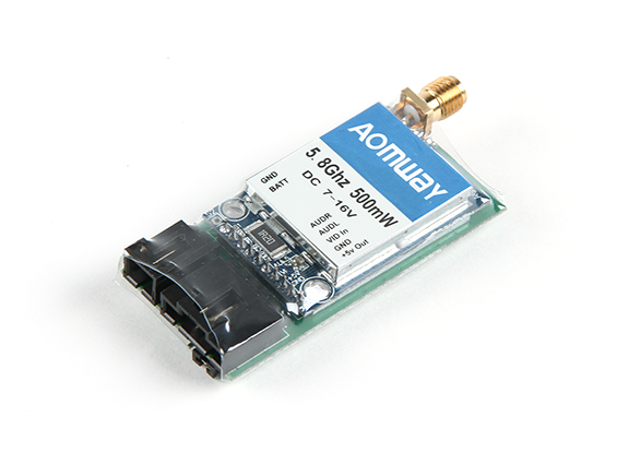 The Aomway 5.8G 500mW Video Transmitter<br><br>Aliexpress