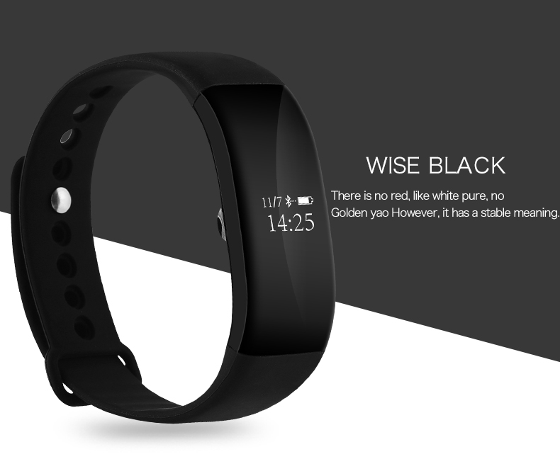 V66 New Bluetooth Smart band Heart Rate Monitor Smart wristBand Sport Activity Fitness Tracker Fashion Bracelet for Ios Android