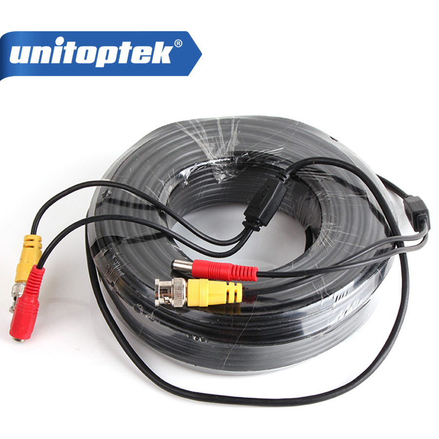 50M(165FT) CCTV Cable BNC+DC Connector CCTV Video Power Extension Cable Support Analog High Definition AHD,TVI,HDCVI Camera &amp;DVR<br>