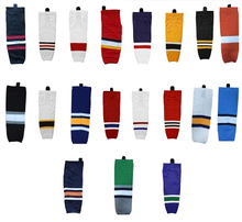 Free shipping Ice Hockey Equipment Socks Team Sport Support Hosiery Adult Hockey Sock Ice Hockey Socks(China)