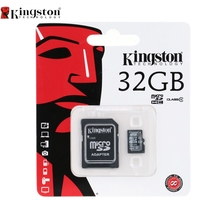 Kingston 5 Pcs Class 10 Micro SD Card 8GB 16GB 32GB 64GB Memory Card C10 Microsd Memory TF Flash Card 32 Drop Shipping(China)