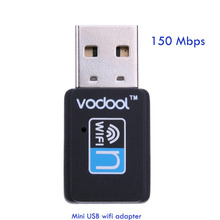 VODOOL Mini USB WIFI 150M Wifi Adapter 802.11n/g/b Wi Fi Antenna 150Mbps Wireless LAN Network Card External USB wifi for Desktop