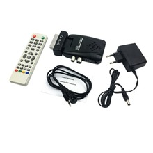 Mini Scart SAT Free Satellite TV Channels Receiver DVD-T2 Satellite Receiver HD DVB-T2 Digital TV Satellite Receiver EU/US/UK