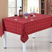 Plaid Tablecloth Square Rectangle Round Table Cloth White Dia.275 260 240 220 200 180 160 135 x 180 90 - 275cm x 90 x 275cm