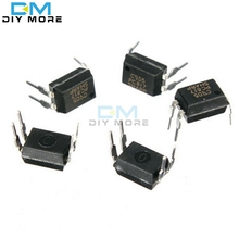 50pcs 4 DIP Optocoupler PC817 817 PC817C EL817C LTV817 PC817-1 High Density Mounting Type Photocoupler