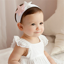 1 PC Newly Lovely Girl Hair Accessories Kids Toddler Cute Lovely Star Headband Newborn Hairband Headwear Elastic for Children(China)