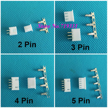 50 kits XH 2.54mm 2/3/4/5/6/7/8/9/10pin JST Connector plug Male, Female, Crimps DIP 3P(China)