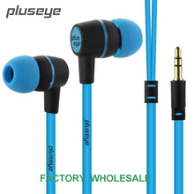 pluseye 3.5mm in-ear  headsets  without mic  music earphones for IPHONE huawei