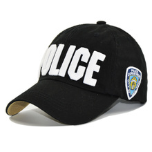 HAPPYTAIL New POLICE Baseball Caps Men Popular Embroidered Bone Gorras Cotton Dad Hat for Women Casual Snapback Hats Adjustable