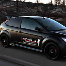 Umbrella Corporation Resident Evil film Logo car stickers Large Vinyl Reflective Material personality Decoration Side Door body