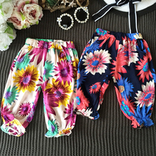 Children dress girls thin Leggings Pants pants mosquito baby bloomers 2017 summer new D644 MM