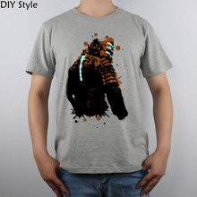 Dead Space 2 Splatter  T-shirt Top Pure Cotton Men T shirt New Design High Quality