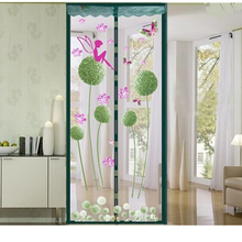 Upgrade Encryption 4 Colors Magnet Mosquito Net Curtains Tulle Window Door Screen Magnetic Moustiquaire Porte