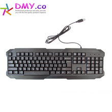 High quality Russian /English Original Gaming CK 104 keys Keyboard Gamer Teclado Gaming USB Keyboards waterproof for PC Labtop