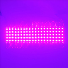 High quality! DC12V SMD5050 5 LED Modules pink-color Led Moudle light for advertisement sign board SKU:P1NVM 20pcs/set(China)