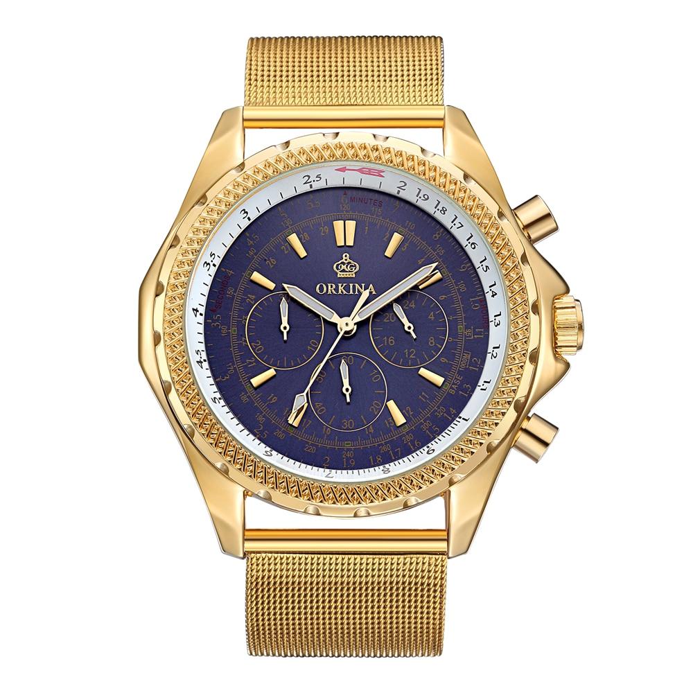 Top Brand Luxury Mens Watch 30m Waterproof Date Clock Male Sports Watches Men Quartz Casual Wrist Watch Gold relogio masculino<br>