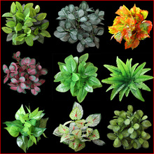 Rushed Sale Plastic Imitation Fern Green Fake Grass Artificial Plants Home Wedding Decoration Planta Artifical Cheap Flowers(China)