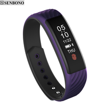 SENBONO NEW W810 smart band bluetooth bracelet support heart rate sleep monitor Fitness Tracker smartband wristband