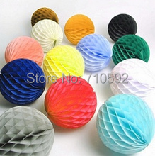 "15pc 2""(5cm) Tissue Paper Honeycomb Balls Decorative Balls Honeycomb Paper Wedding Birthday Showers Christmas Space Decoration"