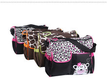 Fashion Baby Diaper Nappy Bag Carter Giraffe Mummy package Multifunction Mummy Handbag Tote 4 Colors